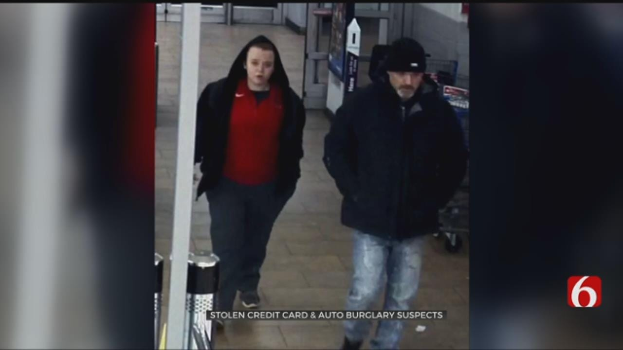 Tulsa Police Say 2 Suspected In Credit Card Fraud