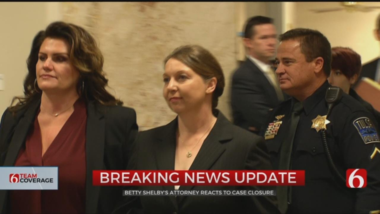 DOJ: No Civil Rights Charges Against Betty Shelby In Terence Crutcher Death
