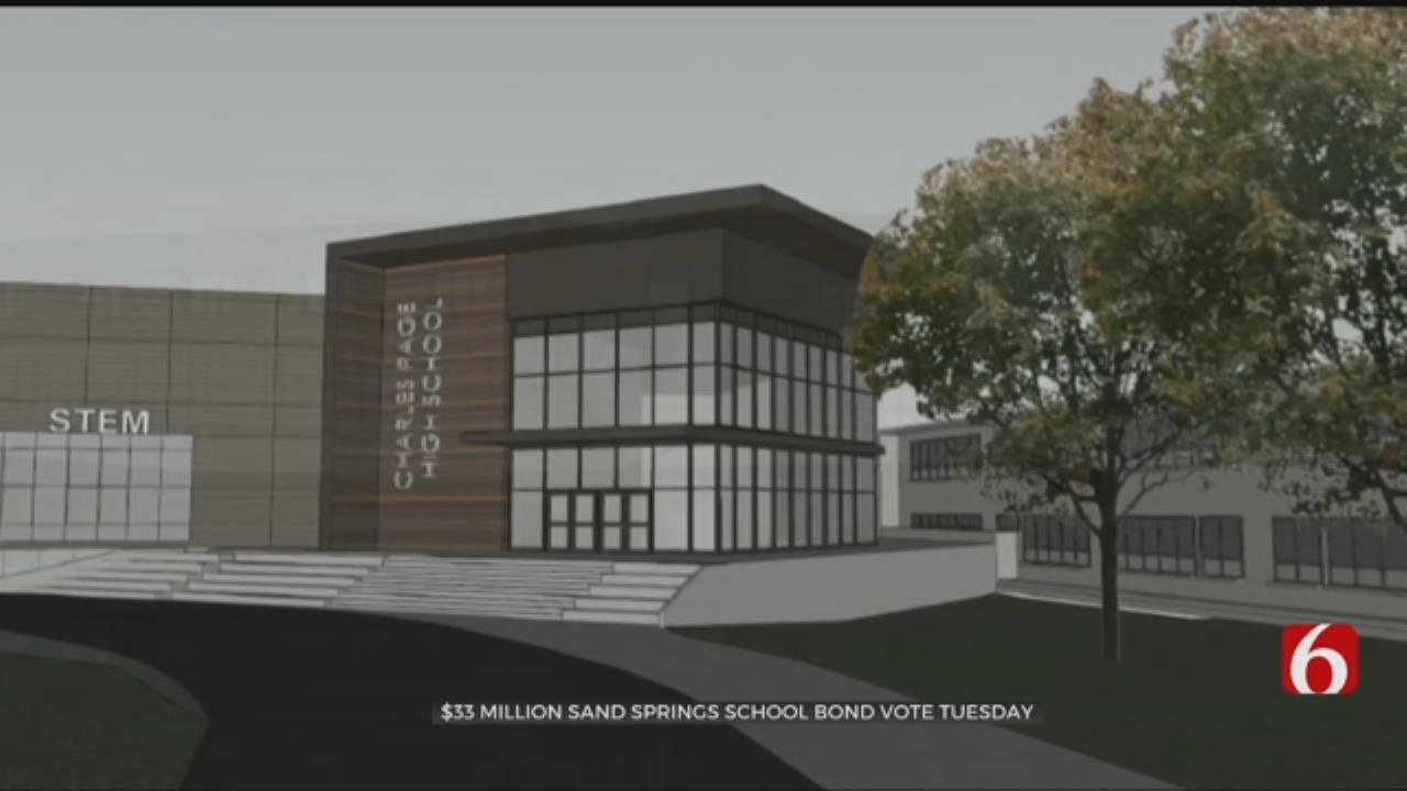 School Leaders Hope $32M Bond Issue Passes In Sand Springs
