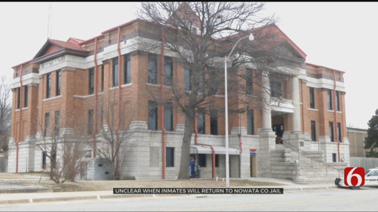Nowata County Jail, Sheriff's Office Evacuated Due to Carbon Monoxide