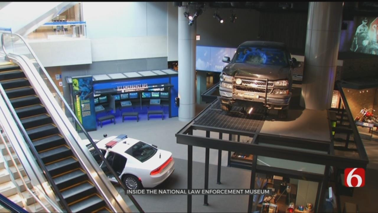 D.C. Law Enforcement Museum Honors Oklahoma's Own