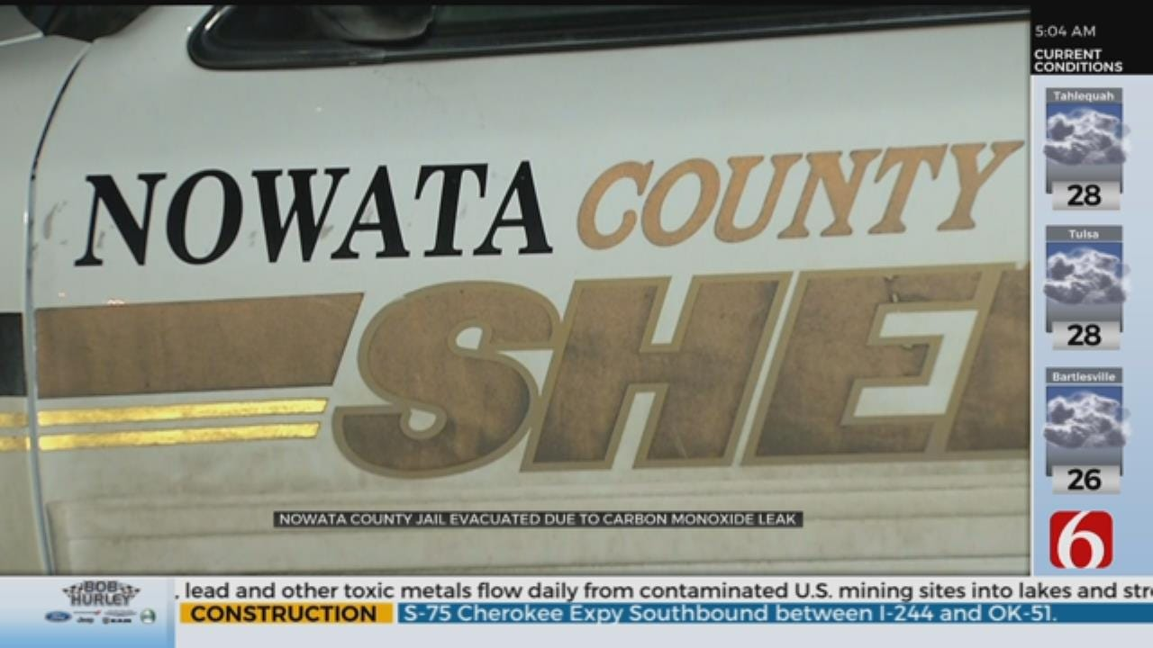 Nowata County Jail, Sheriff's Office, Evacuated Due to Carbon Monoxide