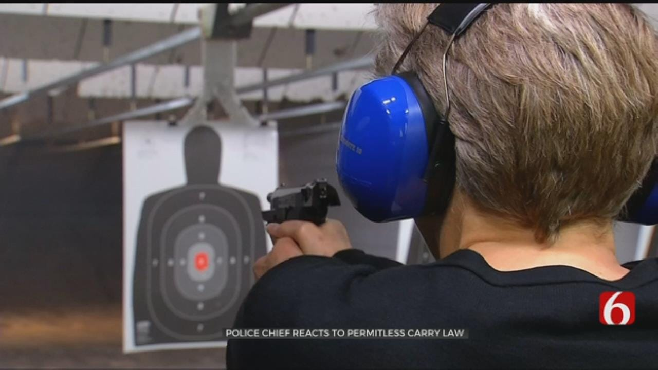 Mounds Police Chief Reacts To Permitless Carry Law