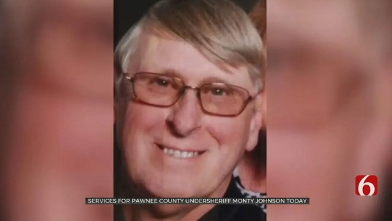 Service Fit For A Lawman: Pawnee Co. Undersheriff Monty Johnson Laid To Rest