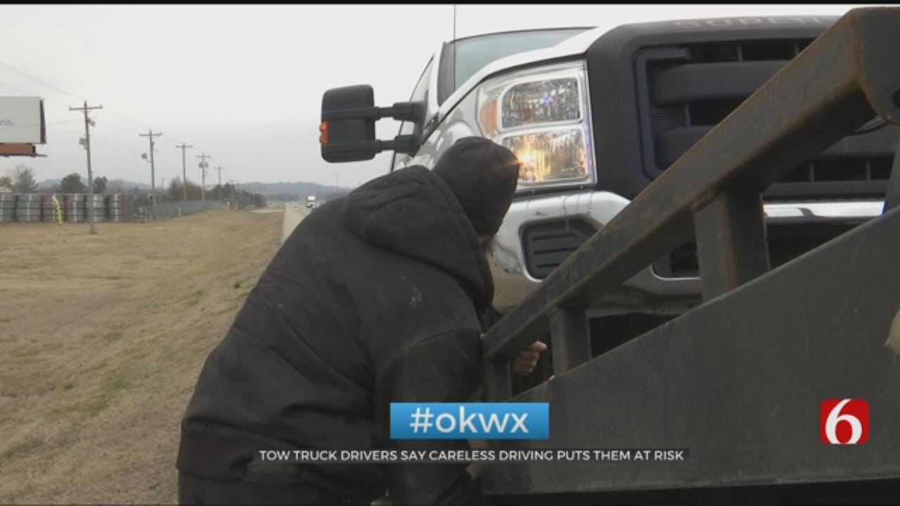 Move Over Or Slow Down, Tow Truck Drivers Say