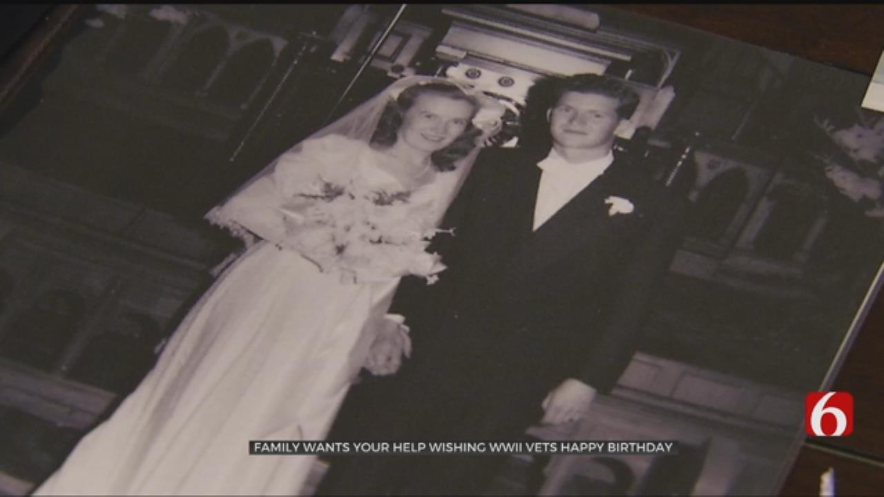 WWII Veterans Celebrate Over 70 Years Of Marriage