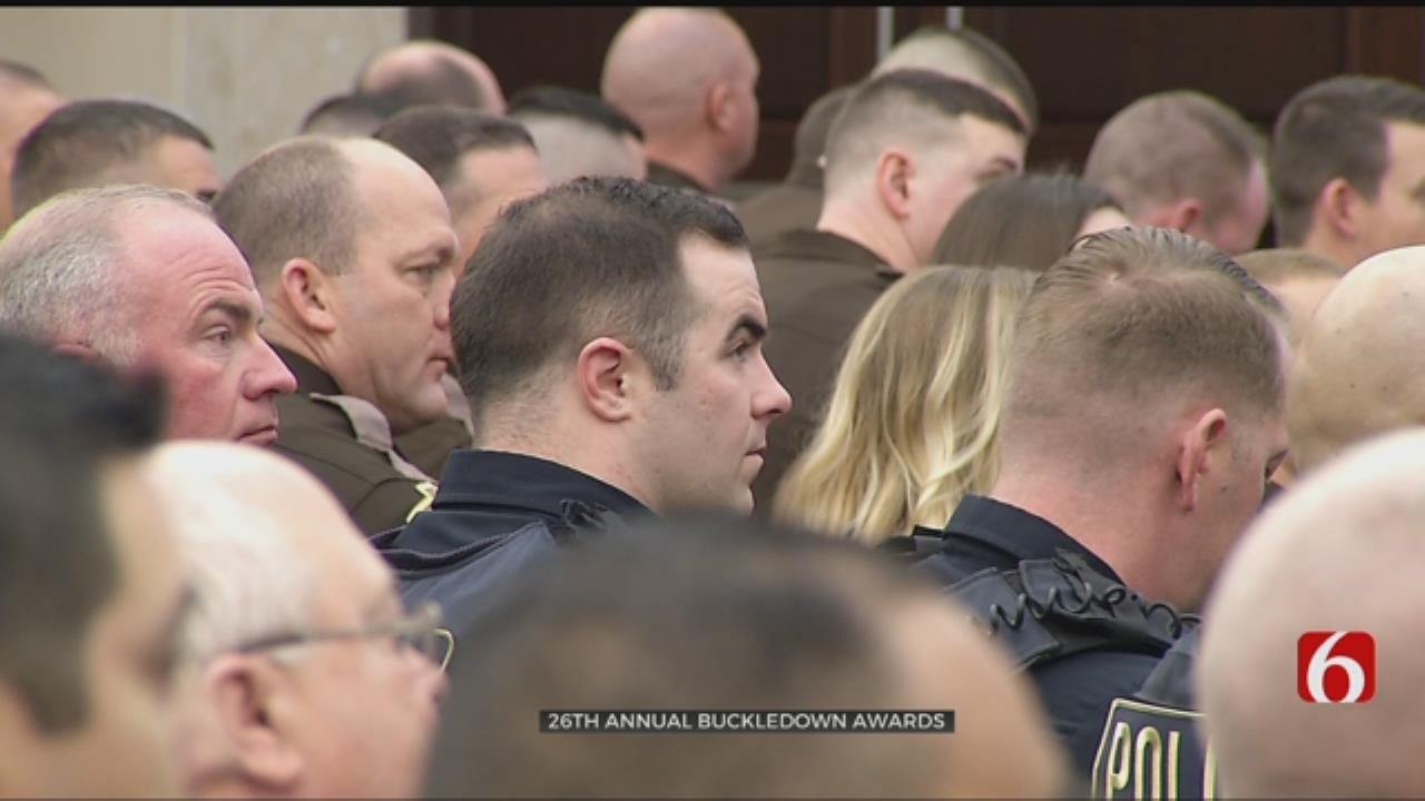 Law Enforcement Honored At Buckledown Awards