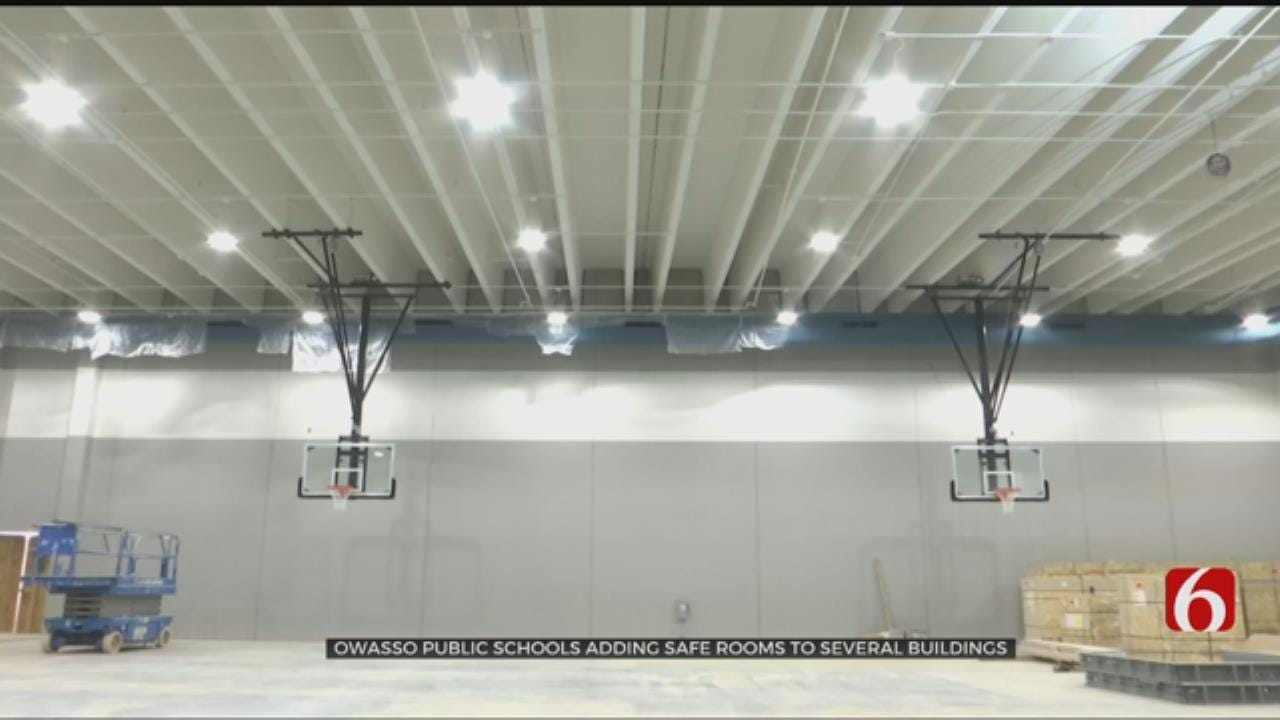 Storm Safe Gyms Coming To Three Owasso Schools