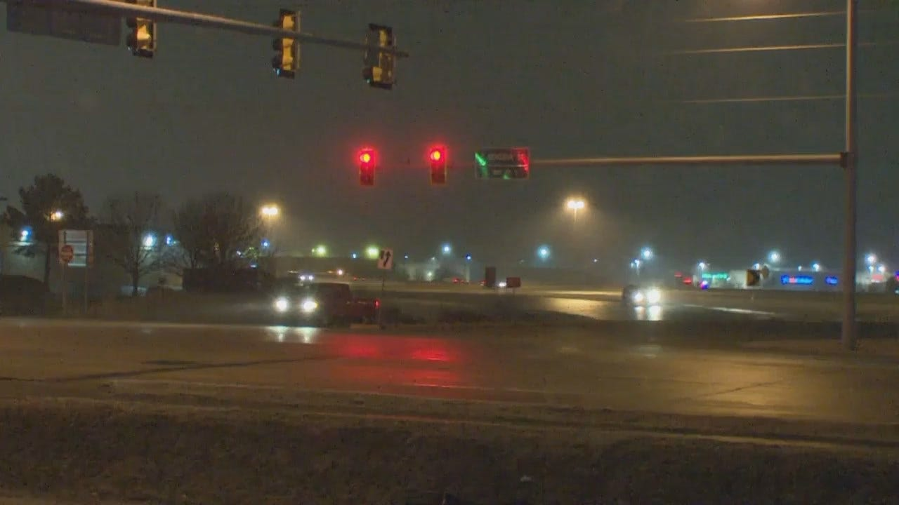 WATCH: Icy Off Ramp Causes Several Drivers To Lose Control