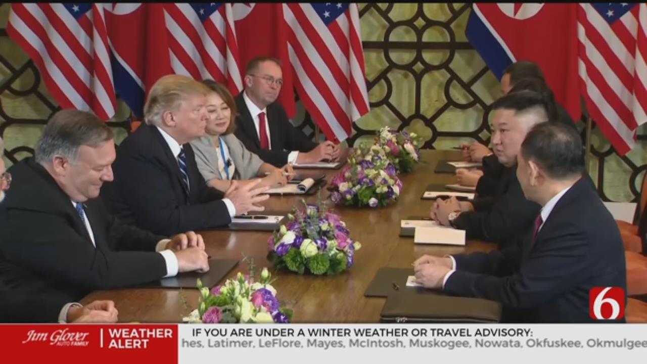 No Deal, Summit Between President Trump And Kim Jong Un Cut Short