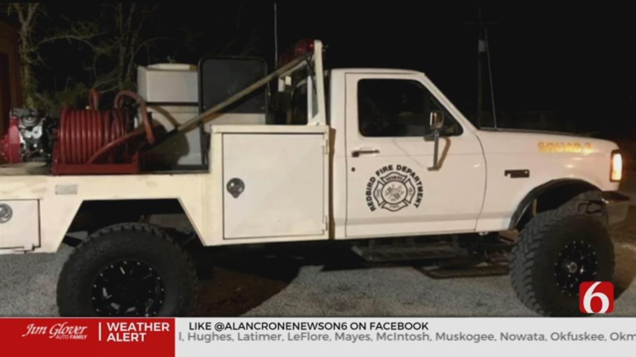 1 Red Bird Fire Truck Recovered, 1 Still Missing