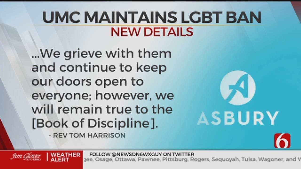 Asbury United Methodist Church Responds To LGBTQ Decision