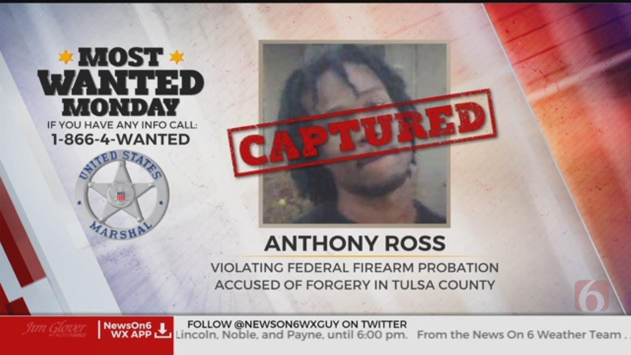 U.S. Marshals Most Wanted Suspect Captured