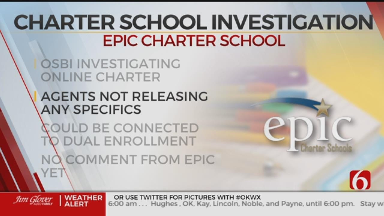 Epic Charter Schools Under Investigation By OSBI