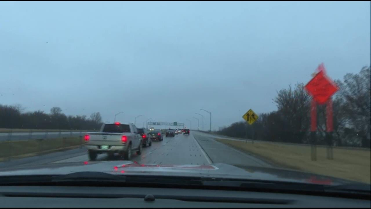 News On 6 Storm Tracker Von Castor Checking Tulsa Area Road Conditions