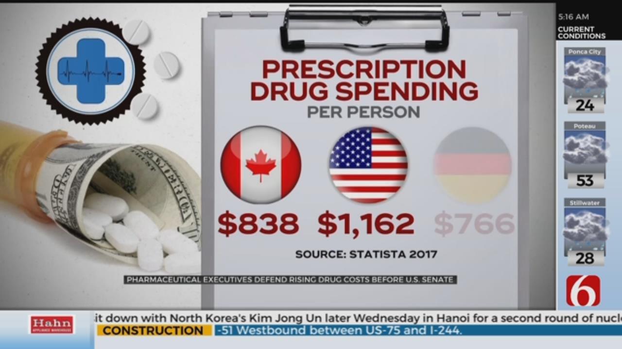 Pharmaceutical Executives Testify Before U.S. Senate
