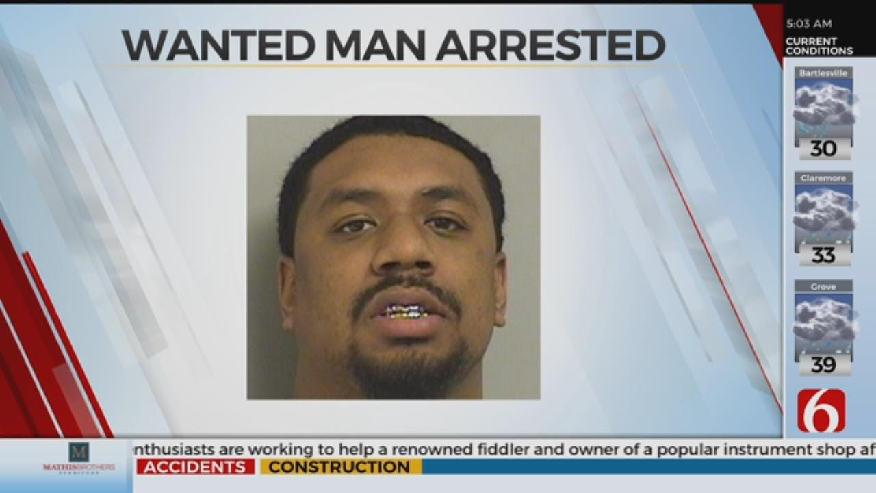 Wanted Man Arrested After Chase