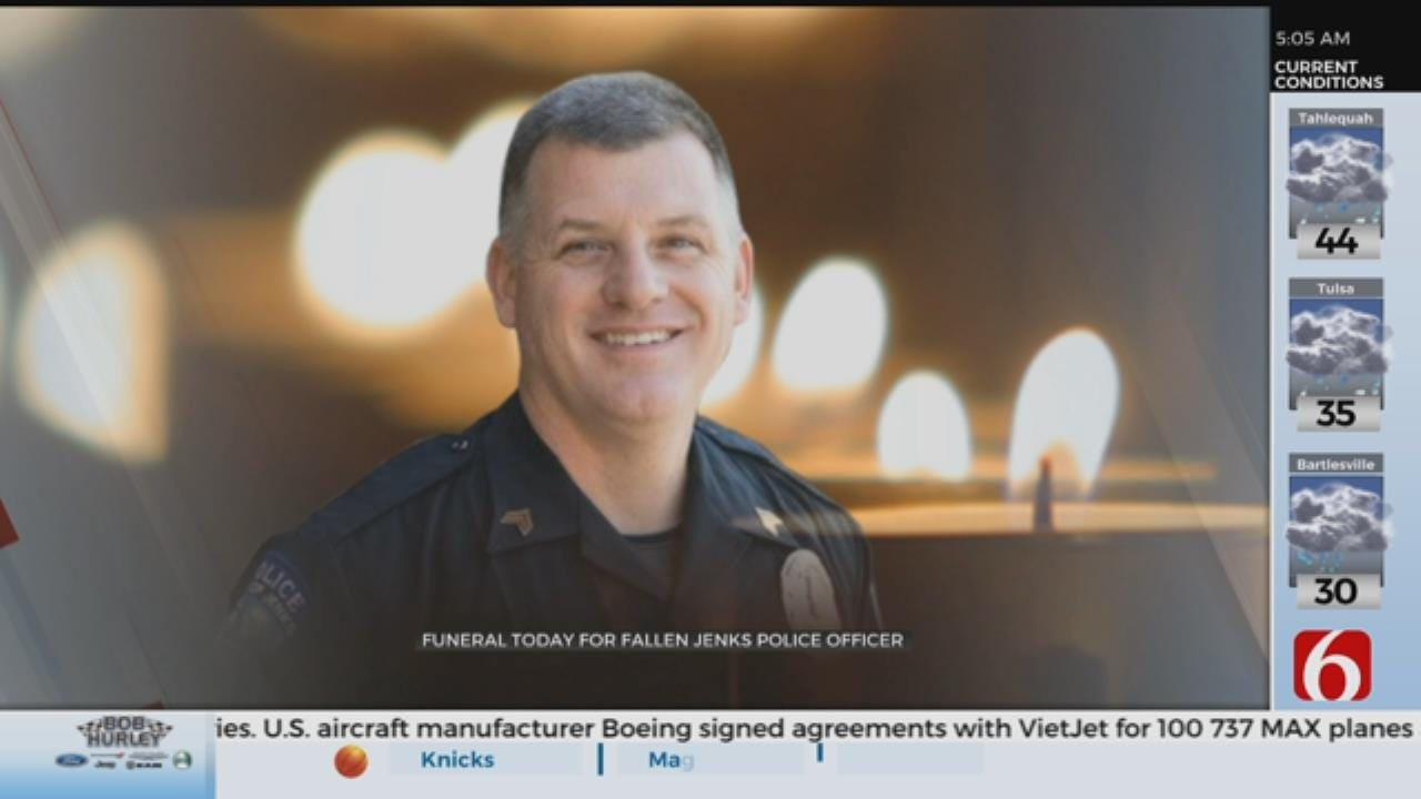 Jenks Police Sergeant To Be Laid To Rest
