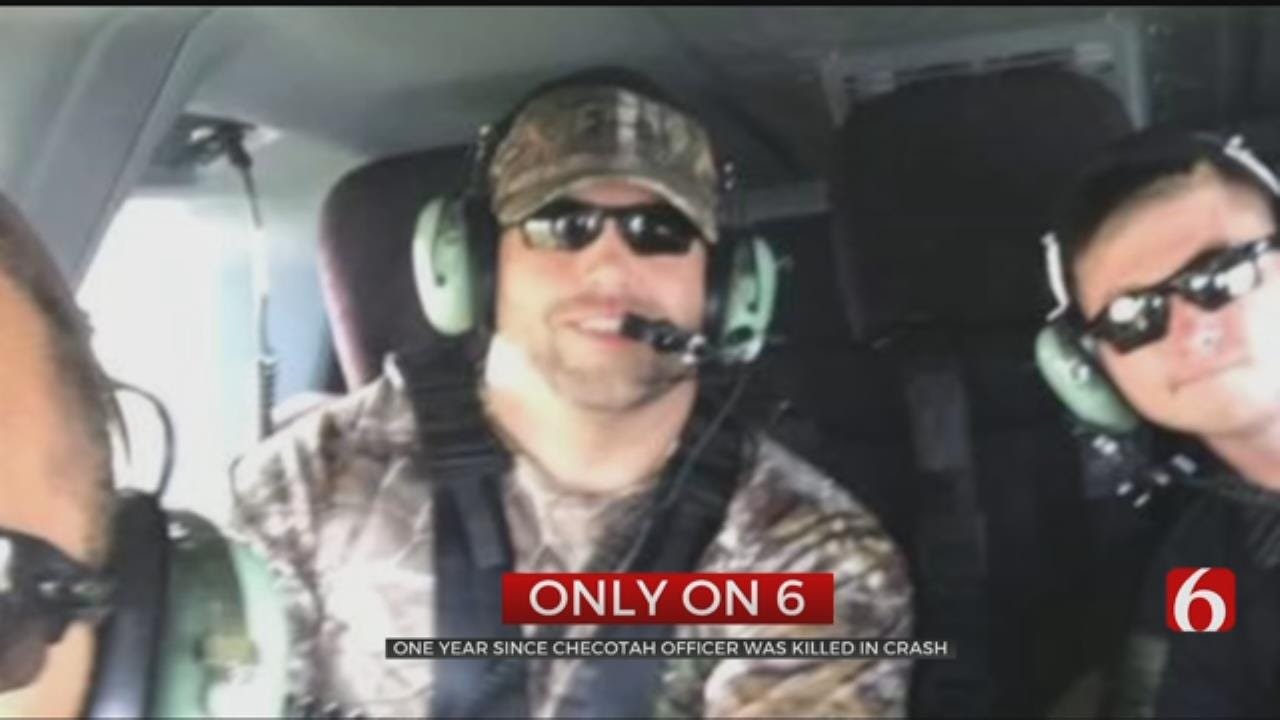 Former Checotah Asst. Police Chief Remembered One Year After Crash
