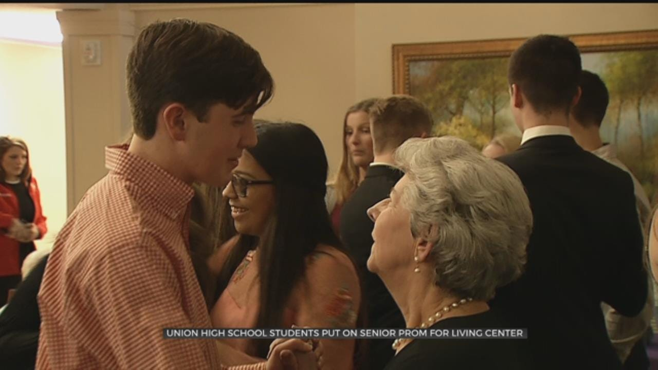 Union High Seniors Give Senior Living Center A Special Prom Night