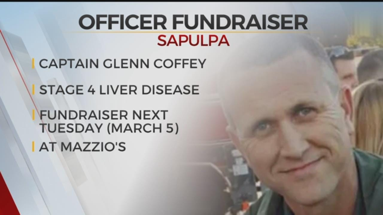 Fundraiser Set For Sapulpa Officer Who Needs Transplant