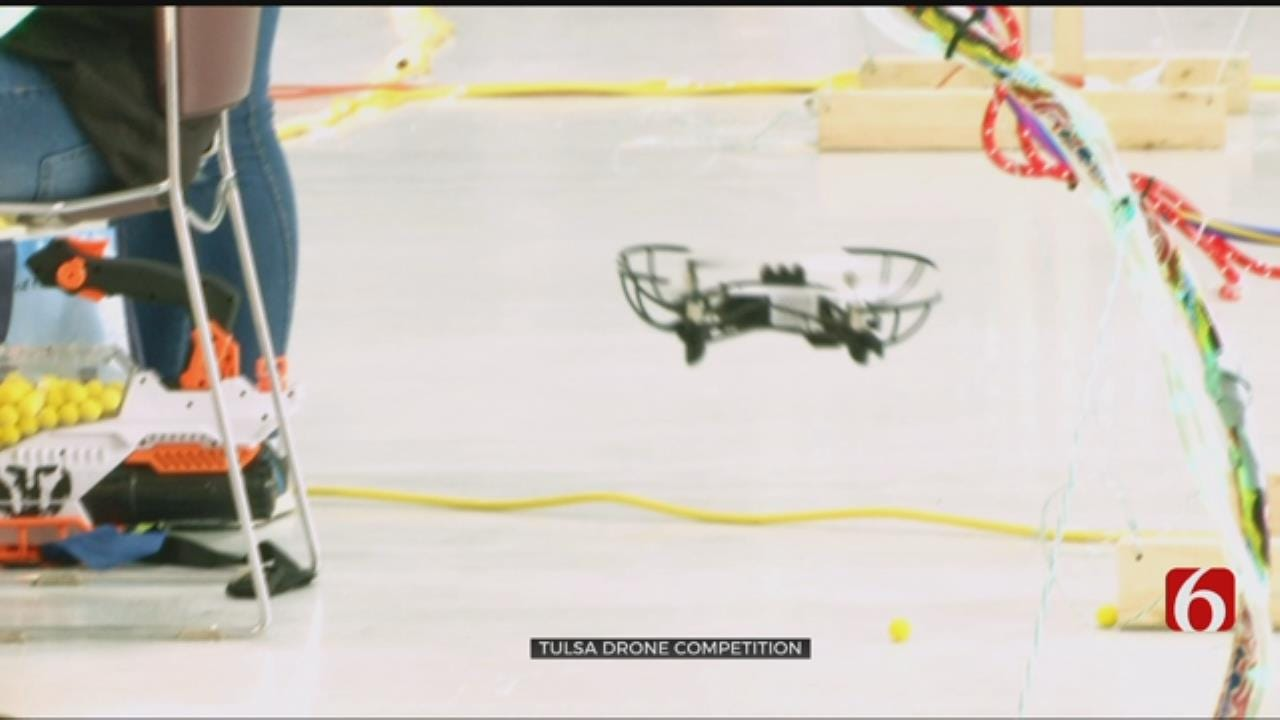Tulsa Regional STEM Alliance Holds Star Wars Themed Drone Competition