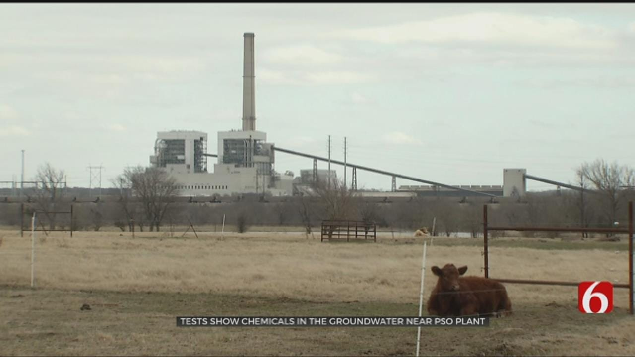 Tests Show Lithium In The Groundwater Near Oologah PSO Plant