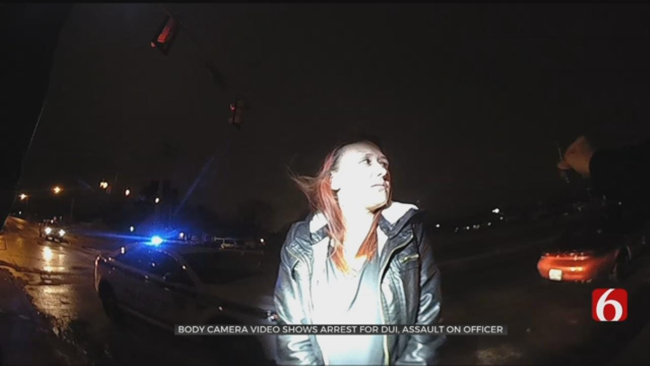 WATCH: Video Shows Suspect Spit On TPD Officer