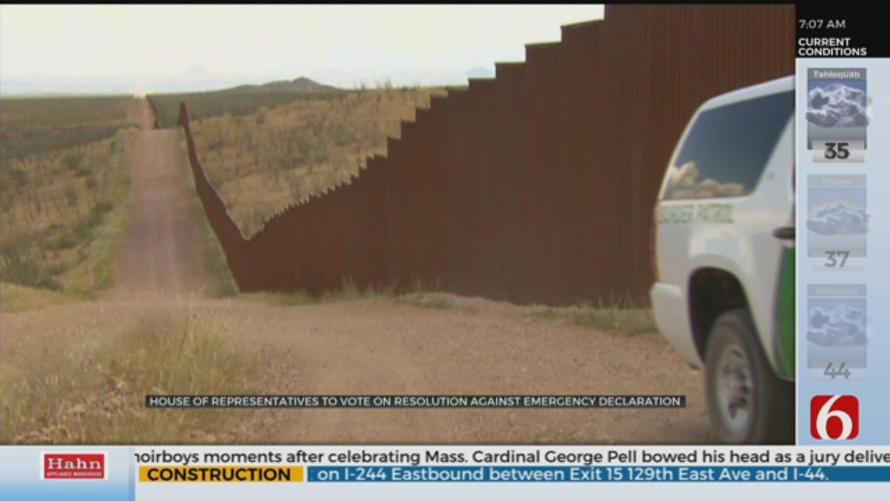 House Representatives Expected To Pass Bill Against Border Emergency Declaration