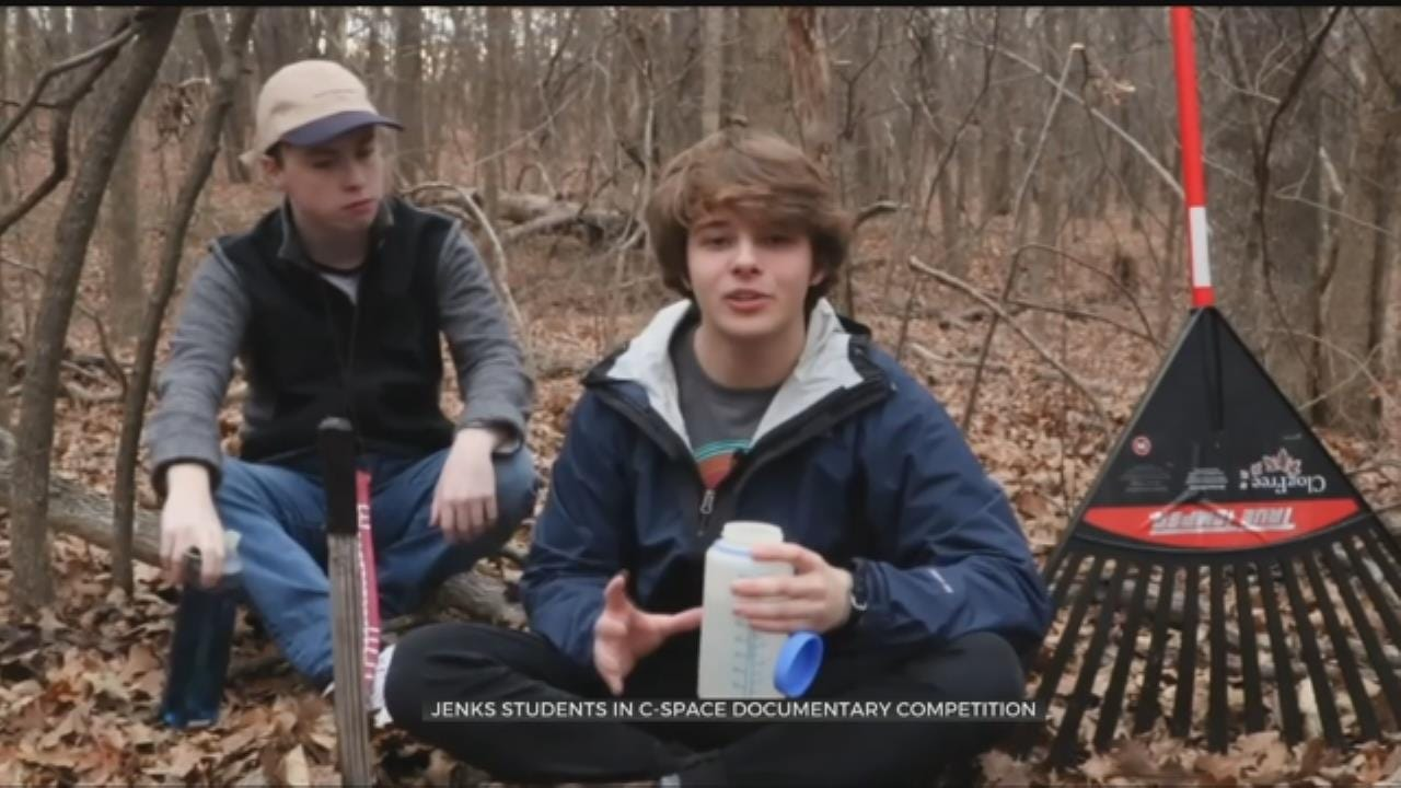 Jenks High School Students Compete In Documentary Competition