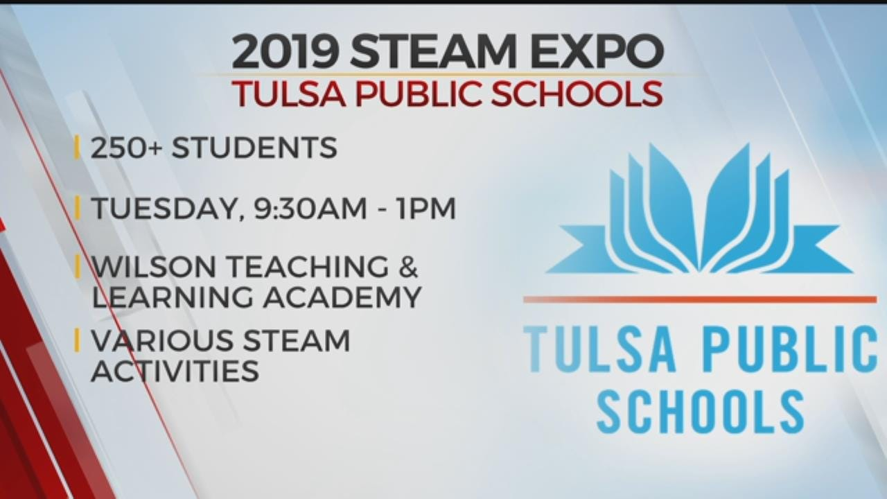 Tulsa Public Schools Hosting STEAM Expo On Tuesday