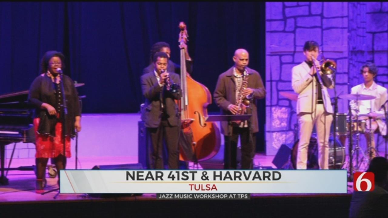 UCLA Brings Jazz Workshop To Tulsa Schools