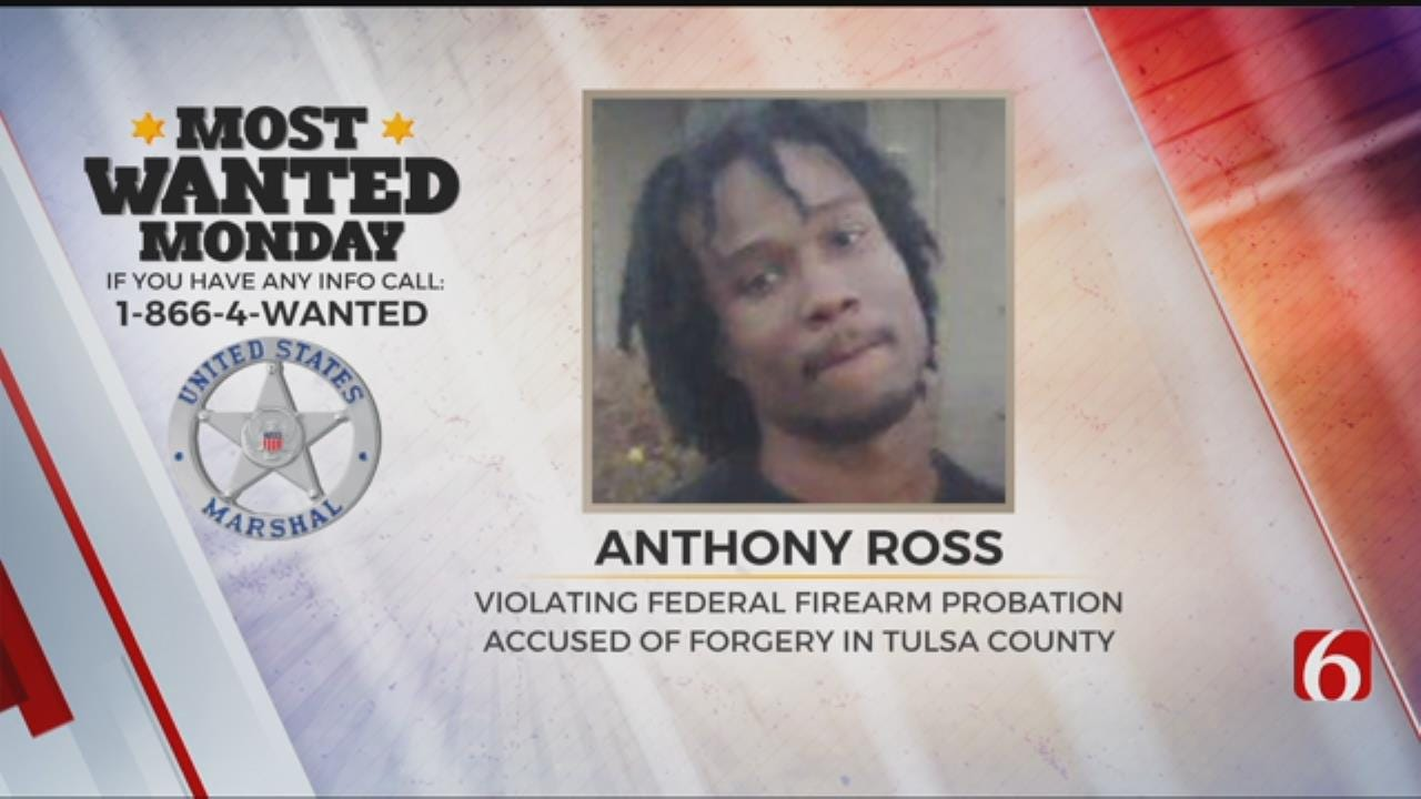 U.S. Marshals Search For Convicted Robber
