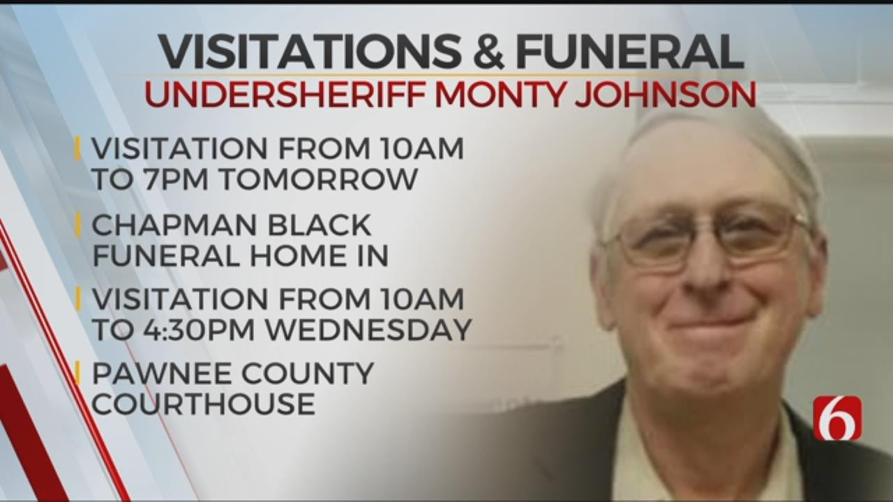 Memorial Service Set For Pawnee County Undersheriff