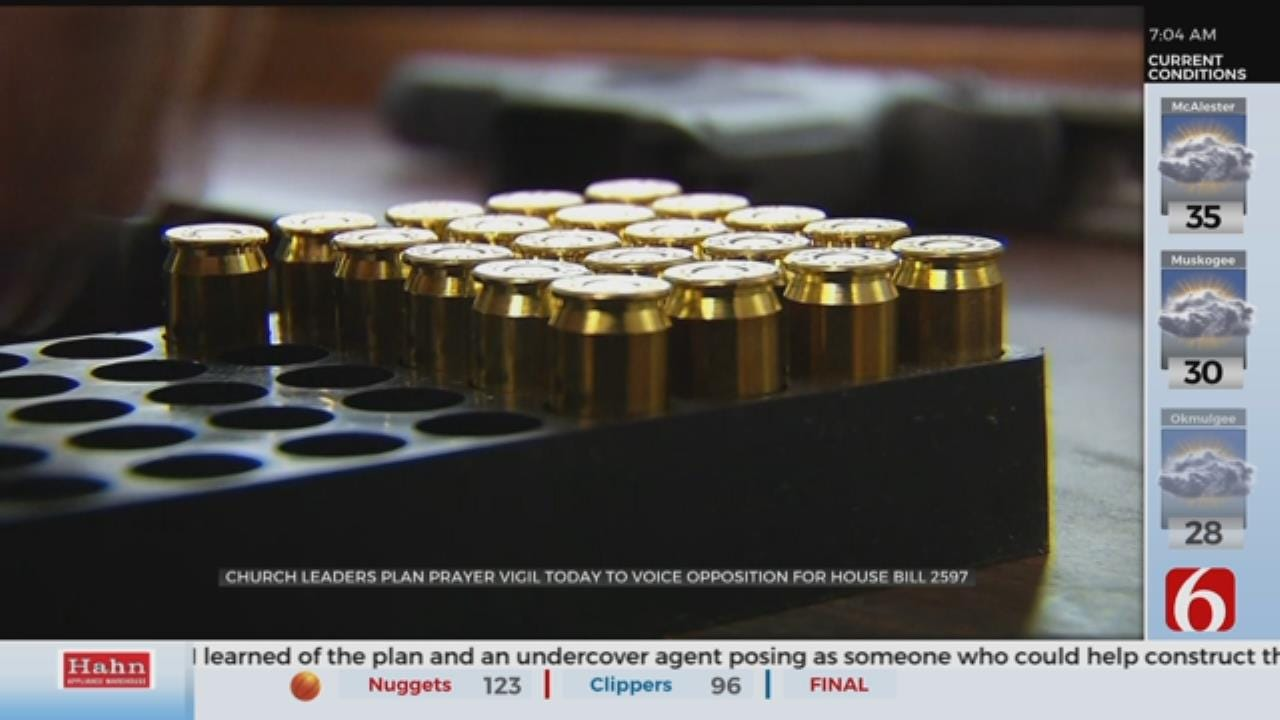 Church Groups Hold Prayer Vigil Against Constitutional Carry