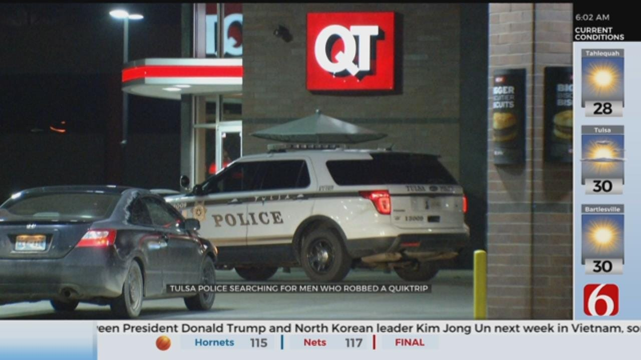 Police Searching For 2 Suspects In QuikTrip Robbery