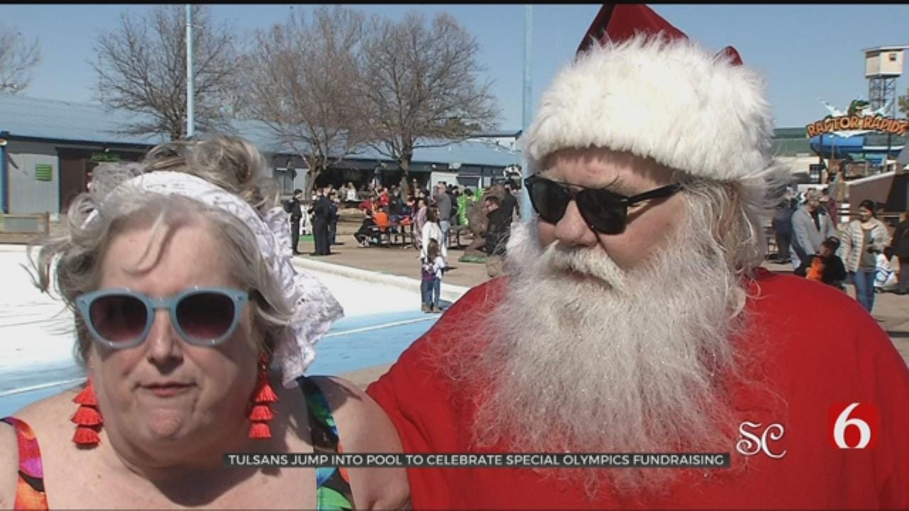 Tulsans Take Frigid Plunge For Special Olympics