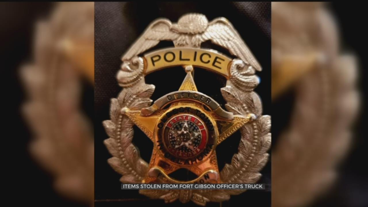 Fort Gibson Police Gear Stolen From Officer's Personal Truck