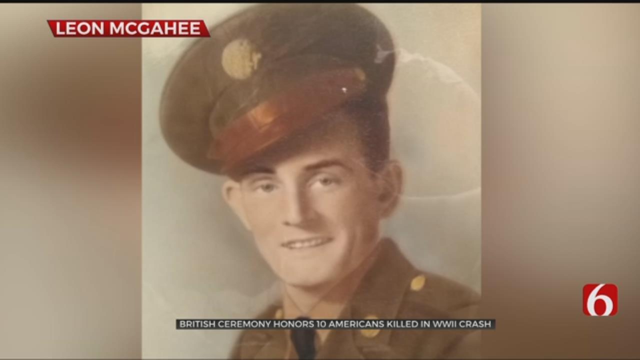 Oklahoma Airman's Sacrifice Honored In England