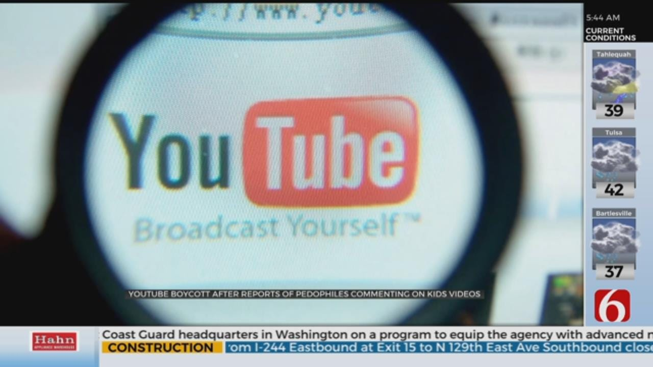 Advertisers Boycotting YouTube