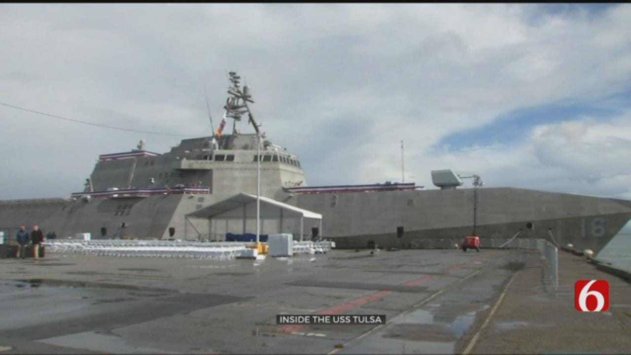 Go Inside The Navy's Newest Fighting Ship, The USS Tulsa