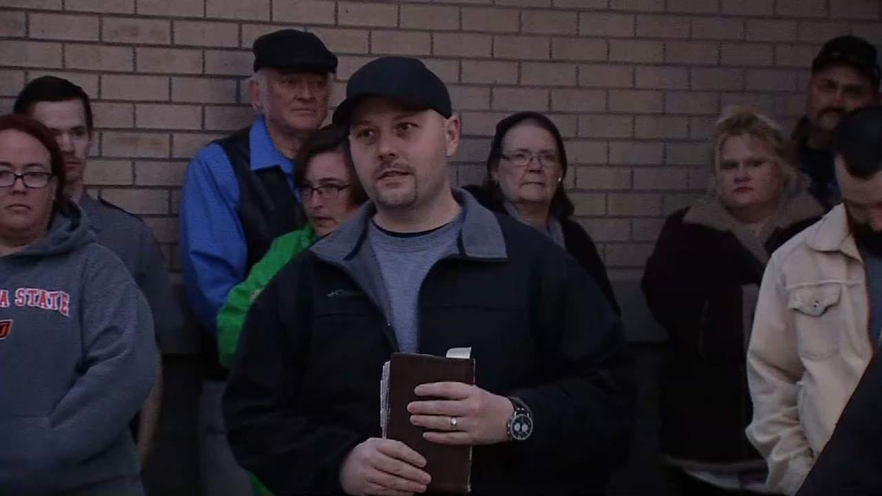 Vigil Held For Pawnee County Undersheriff Monty Johnson