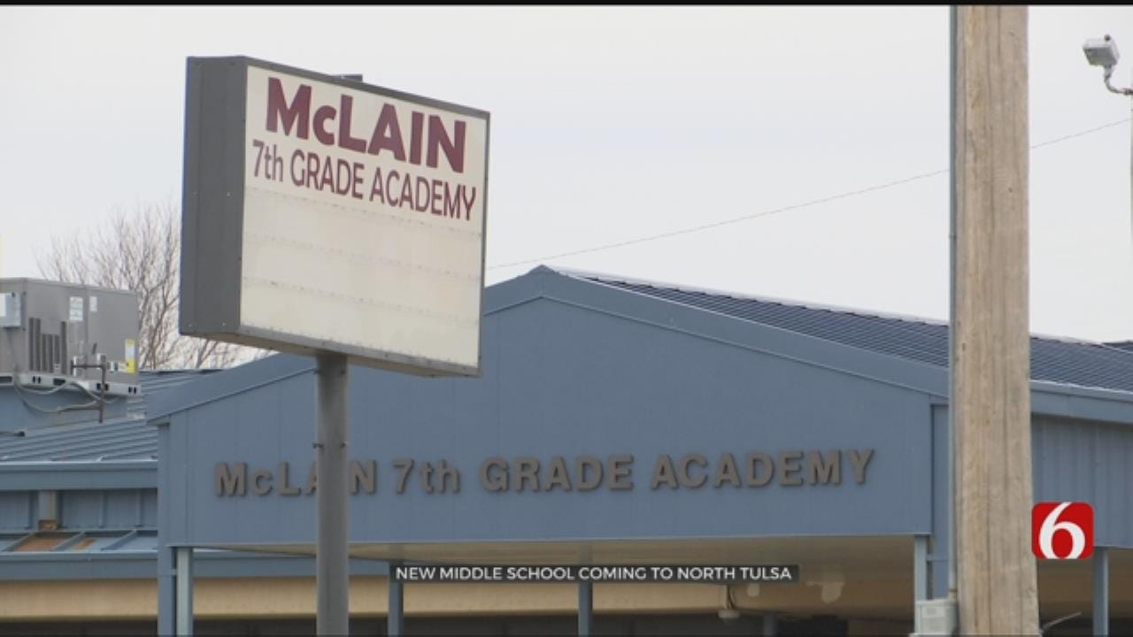 Tulsa Schools Plan Space For North Tulsa Middle School Students