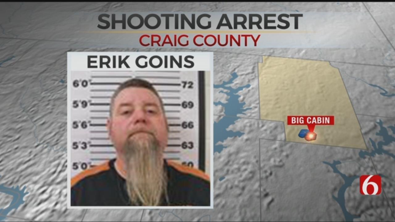 Vinita Man In Custody After Shooting In Big Cabin