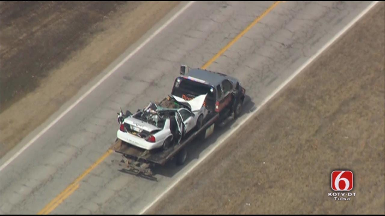 Osage SkyNews 6 HD: Scene Of Wreck That Killed Pawnee County Undersheriff