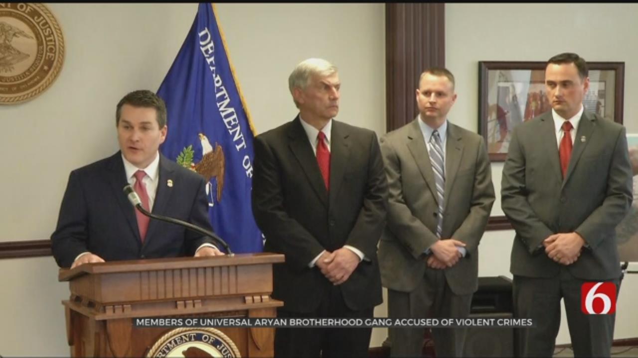 U.S. Attorney Announces Indictment Of 18 Aryan Brotherhood Members