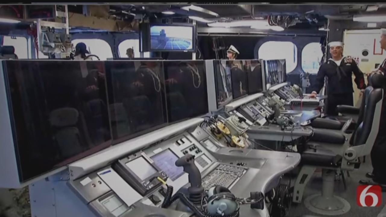 Tonight At 10: Inside The USS Tulsa