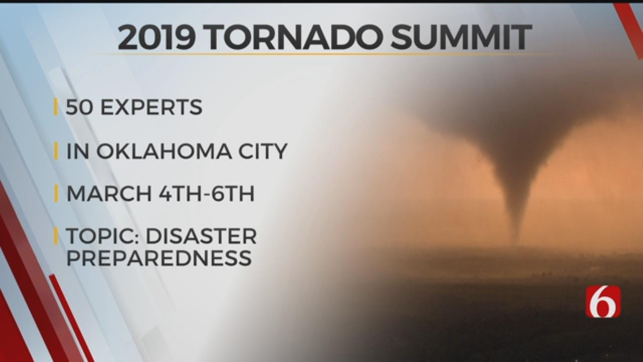 2019 National Tornado Summit To Be Hosted In OKC