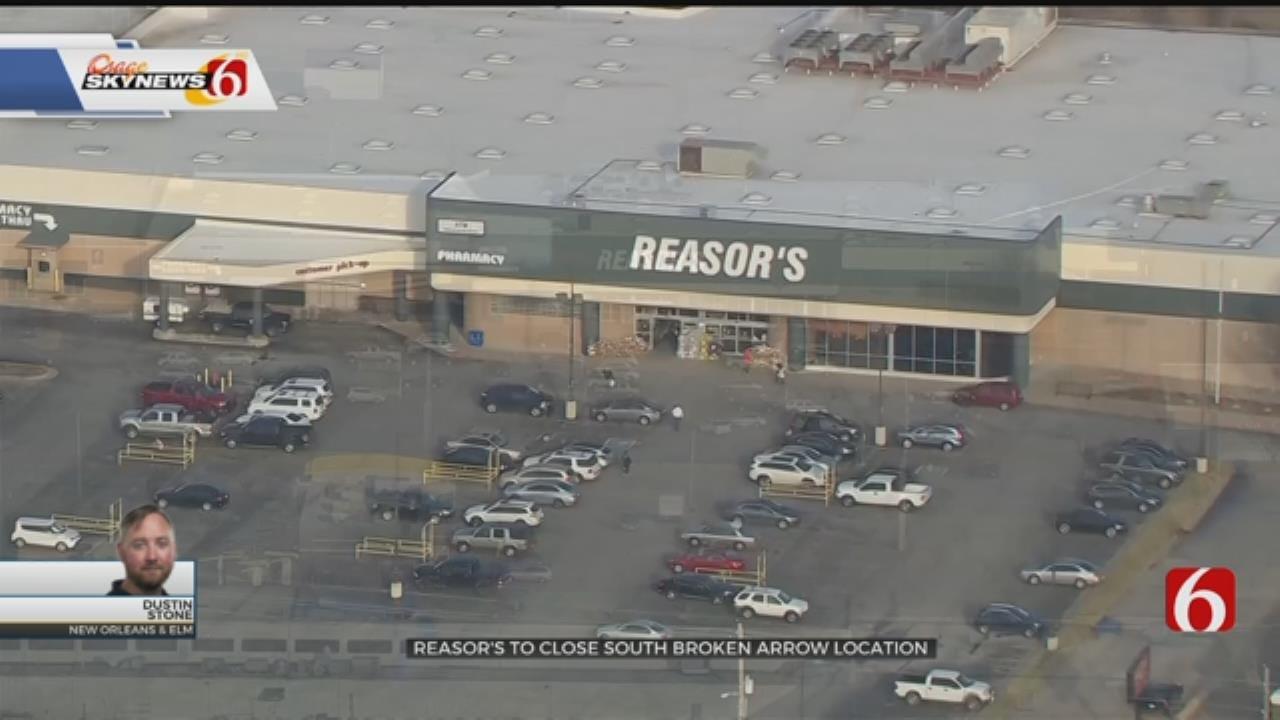 South Broken Arrow Reasor's To Close, City Says