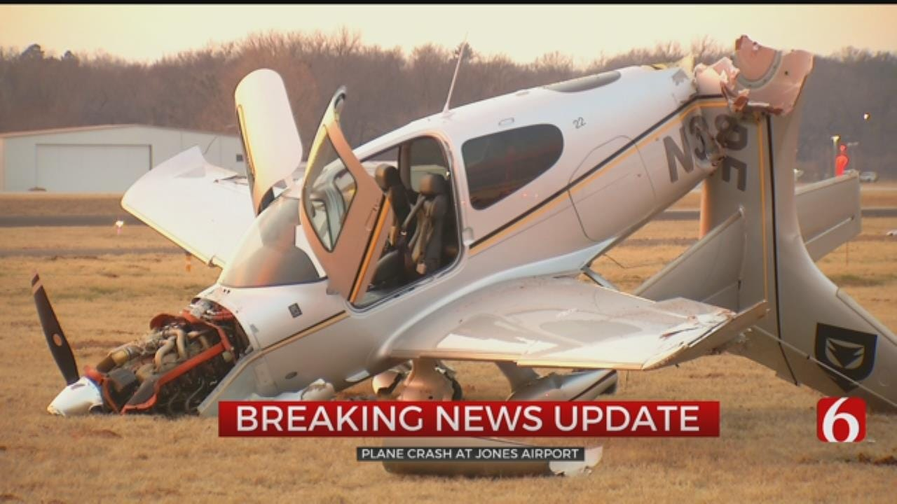 Jones Airport In Tulsa Reopened After Plane Crash